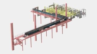Transportadores para produtos granulados