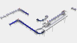 Sistemas transportadores para movimentação de cartuchos